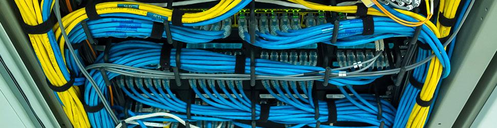 cablage reseau informatique fibre optique Immotic