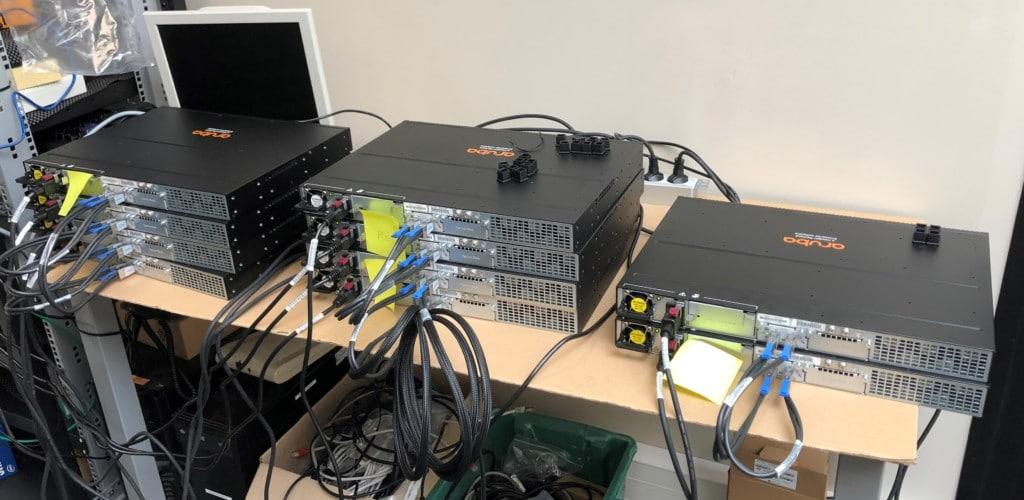 Maquettage de la configuration et tests